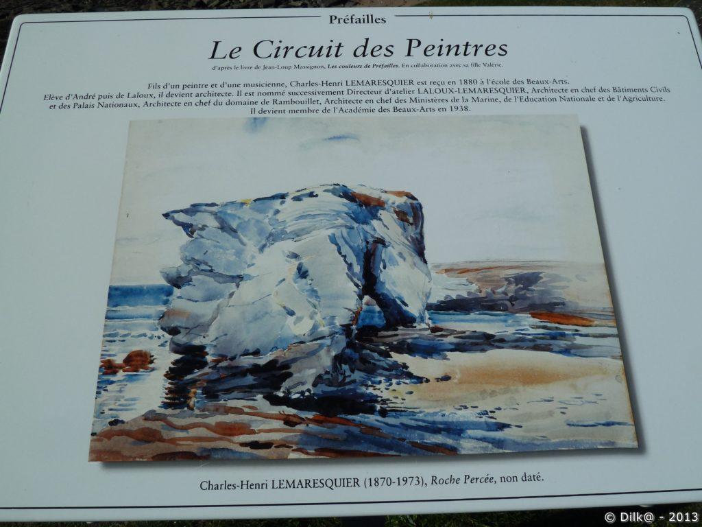 La Roche Percée par Charles-Henri Lemaresquier