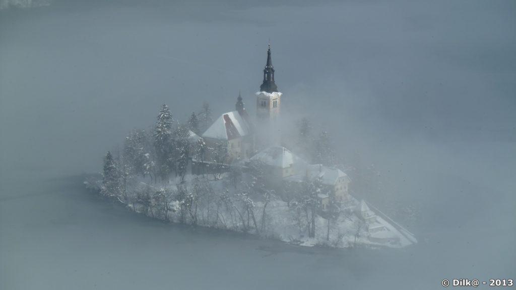 L'île Sainte-Marie, seule île de Slovénie