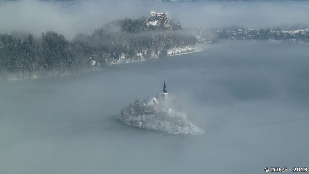 L'île et le château