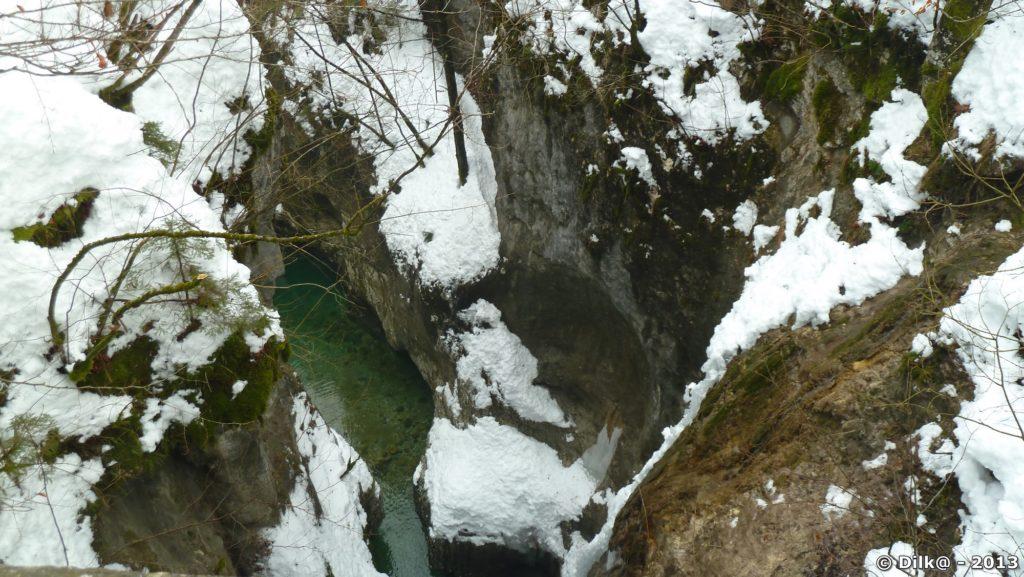 Les gorges de Mostnice