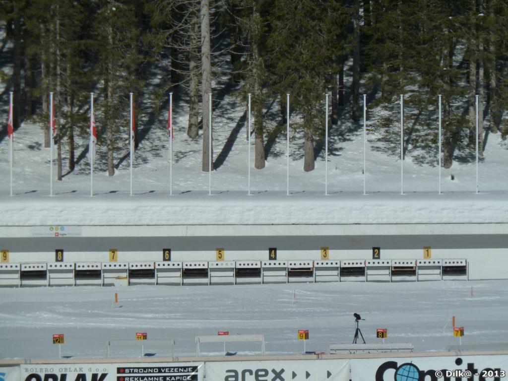 Le stade de biathlon de Rudno Potje
