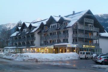 L'hôtel Jezero à Bohinj