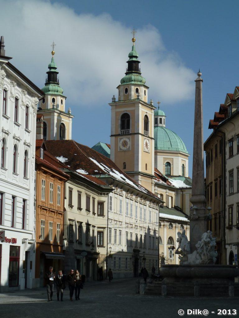 Cathédrale Saint-Nicolas de Ljubljana