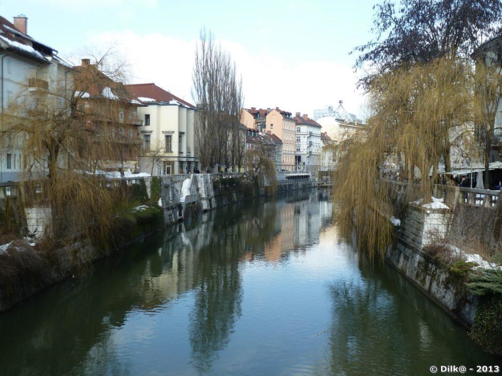 Le fleuve Ljubljanica