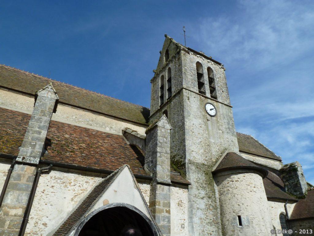 L'église Saint-Aubinà Villeconin