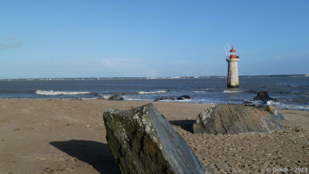 La plage se Villès-Martin à Saint-Nazaire