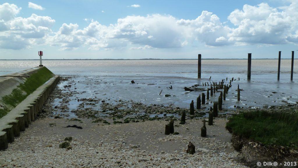 L'estuaire de la Gironde au port de Vitrezay