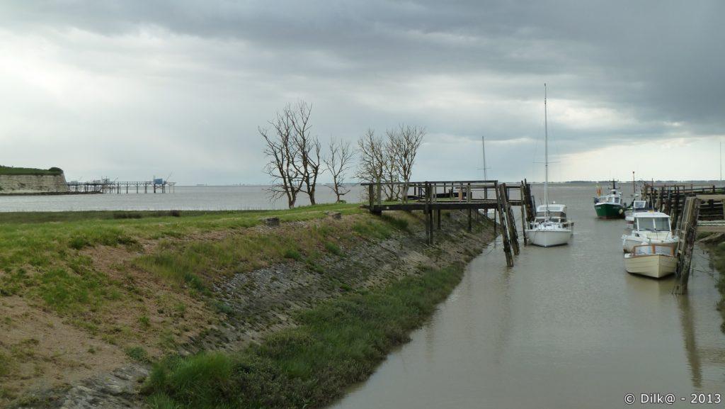Le petit port de Talmont-sur-Gironde