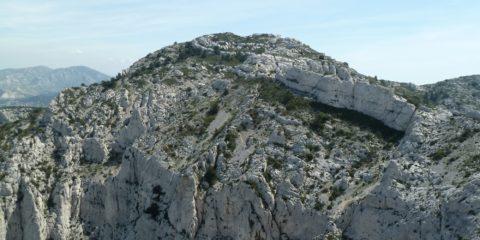 Le sommet de Marseilleveyre