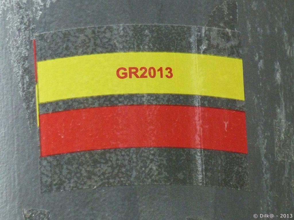 Le balisage du GR2013