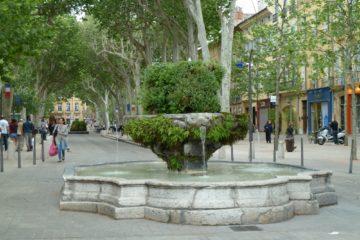 Les fontaines d'Aix-en-Provence