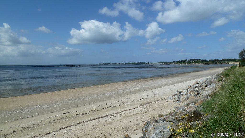 La plage près du camping de Bétahon