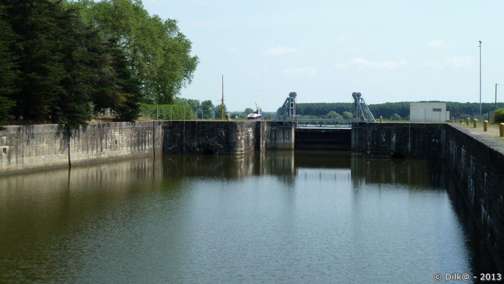 Dernière écluse du canal