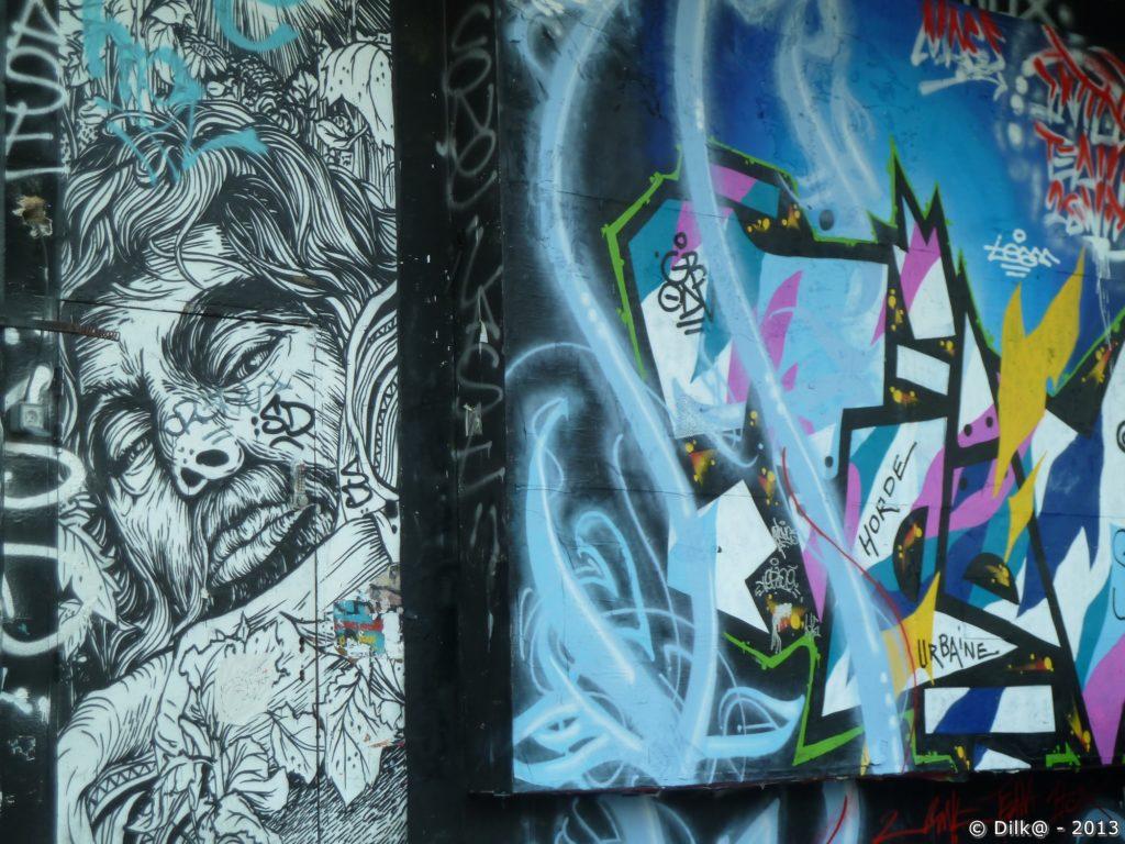 Street Art à proximité de la place de la République
