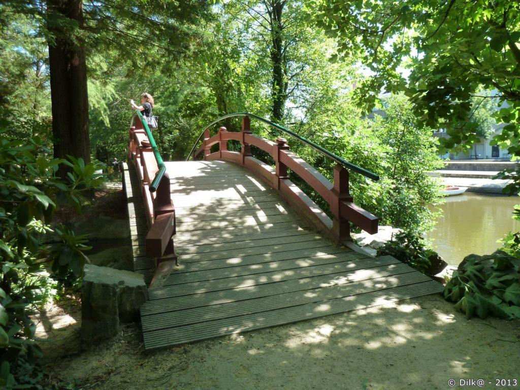 Petit pont du jardin japonnais
