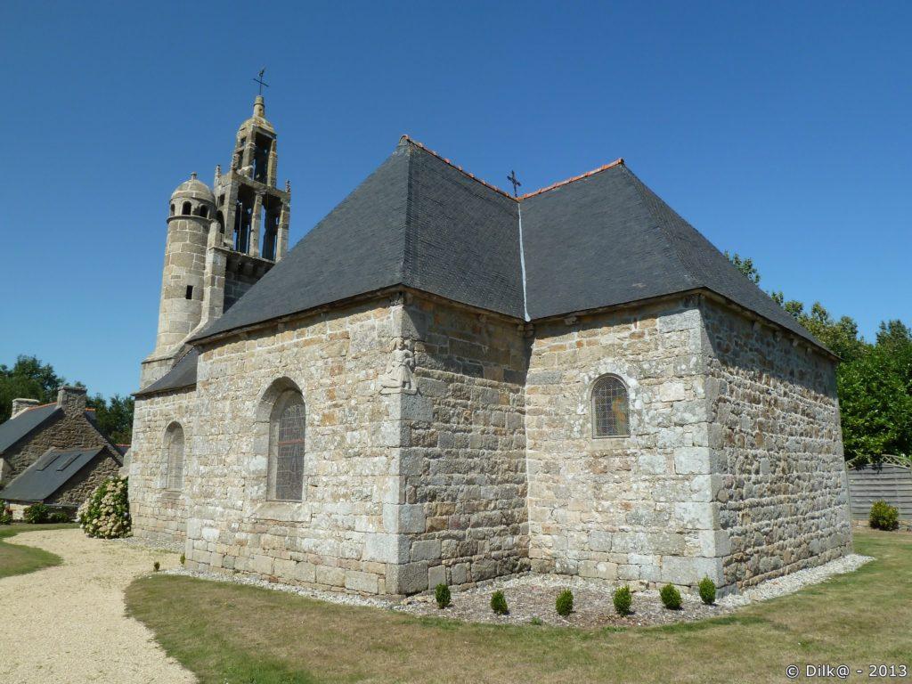 Arrière de la Chapelle de Lanneven