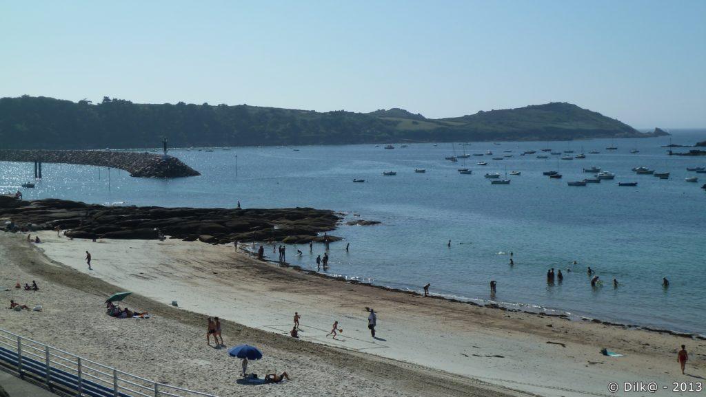 La plage de Pors Termen