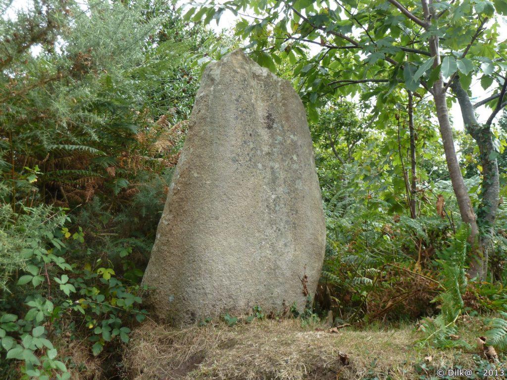Le menhir de Milin Ar Lann