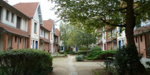 La petite Alsace, dans la cour intérieure
