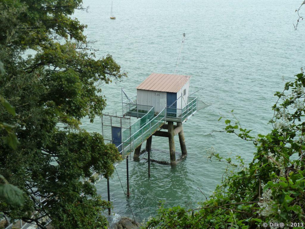 Pêcheries le long du sentier côtier
