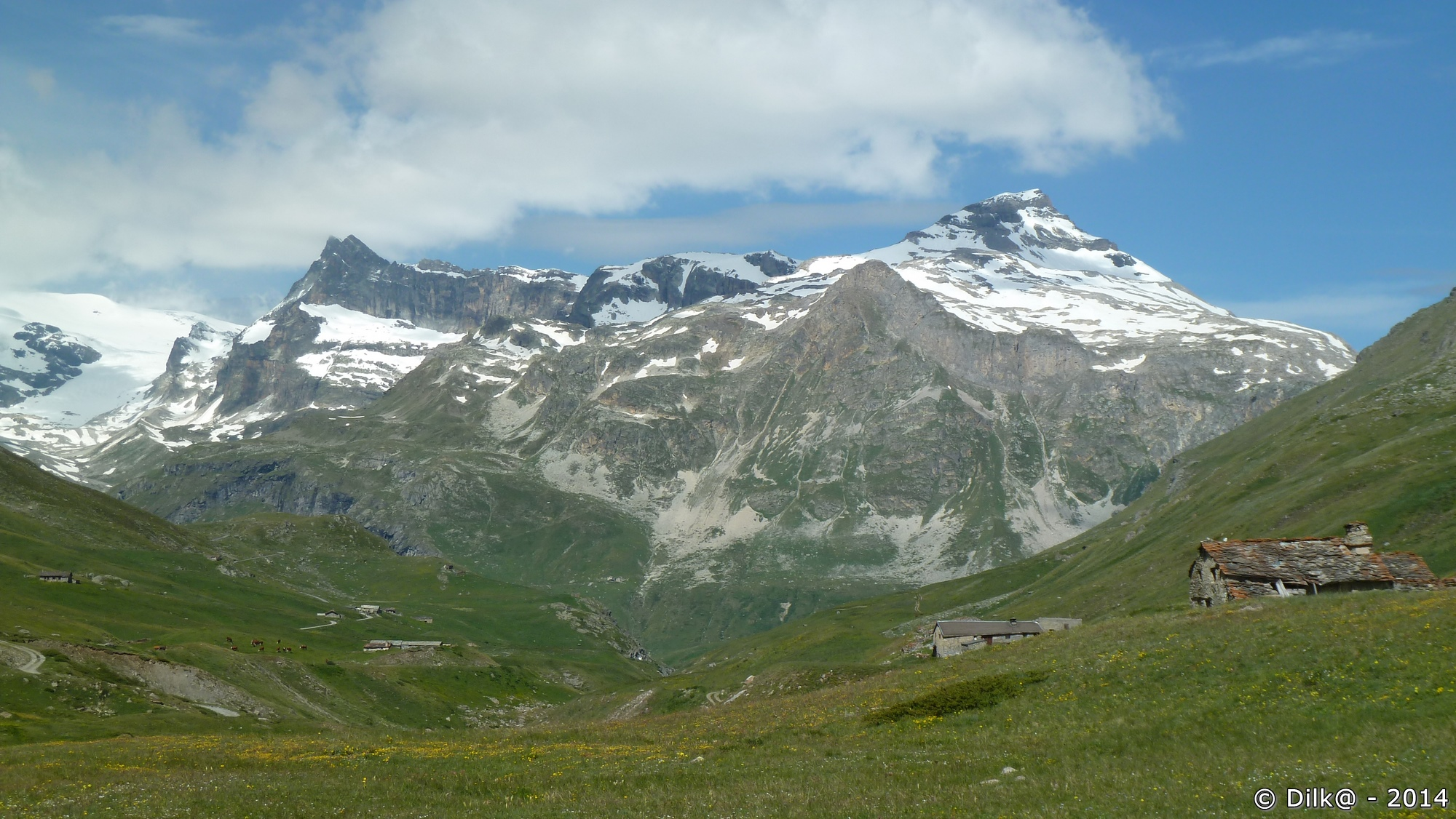 Les chalets d'alpage du vallon de la Rocheure