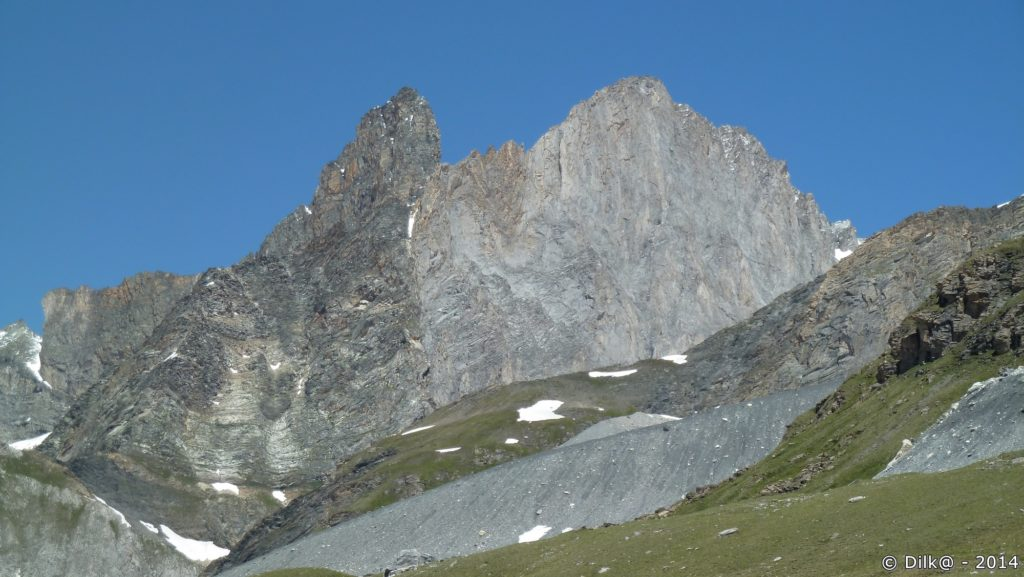 Sur le plateau près du col de la Vanoise