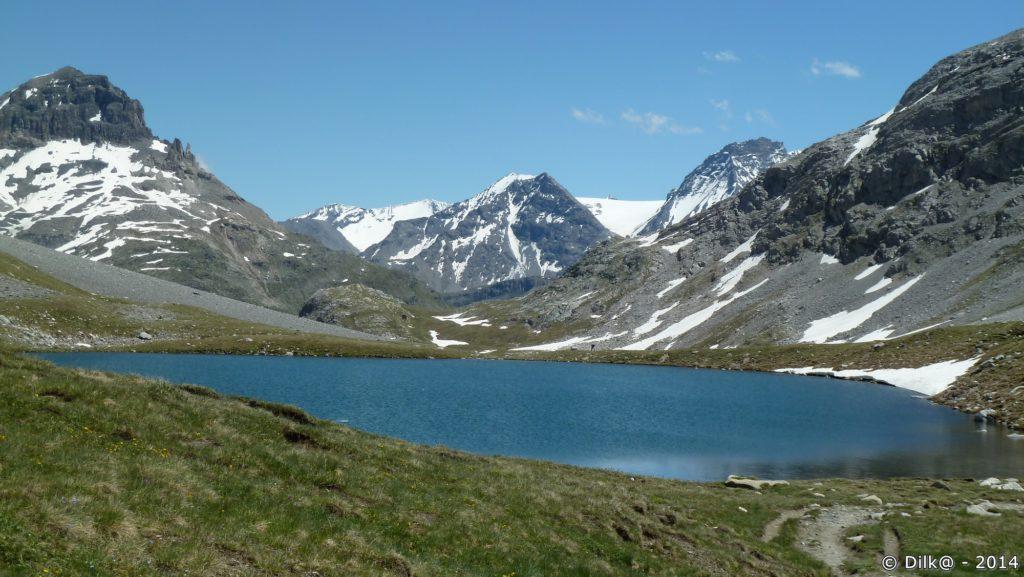L'un des quatre lacs sur le plateau