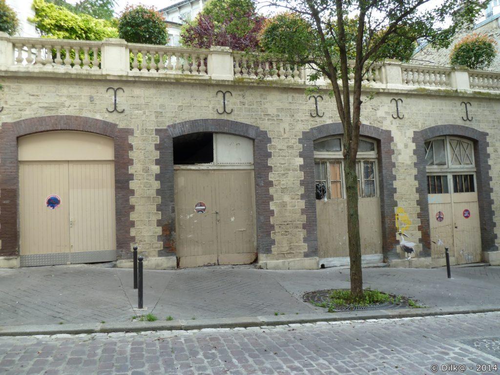 Portes d'anciennes écuries