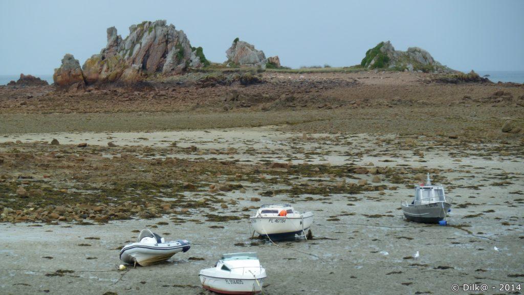 Le port de Buguélès