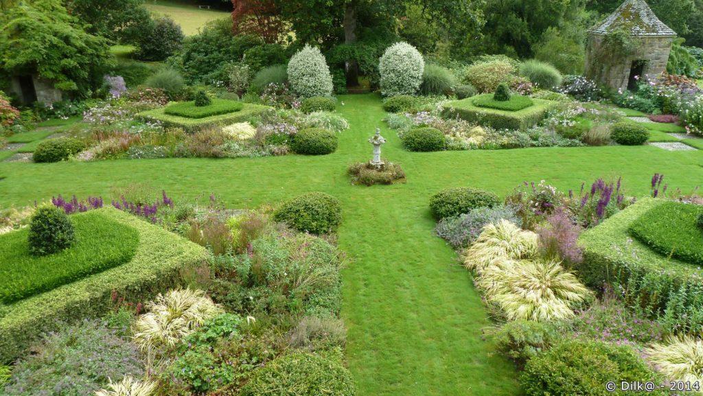 Le jardin des « Quatre Carrés »