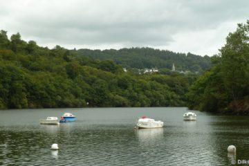 Le lac du Guerlédan