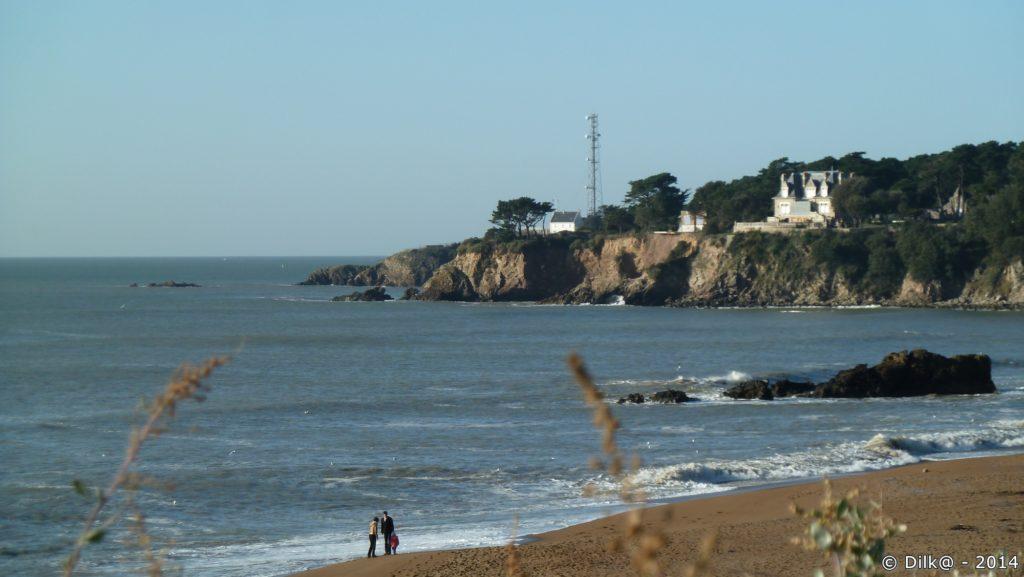 La plage de la Courance
