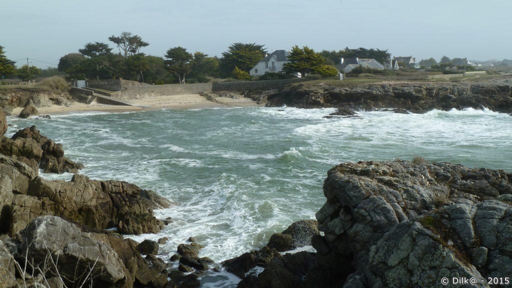 La plage Saint-Michel