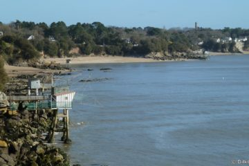 Les pêcheries près de Saint-Nazaire
