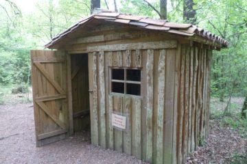 La cabane du gemmeur