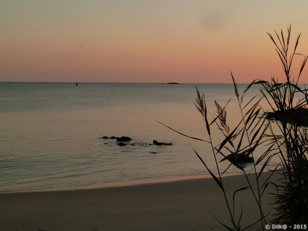 Avant le coucher du soleil