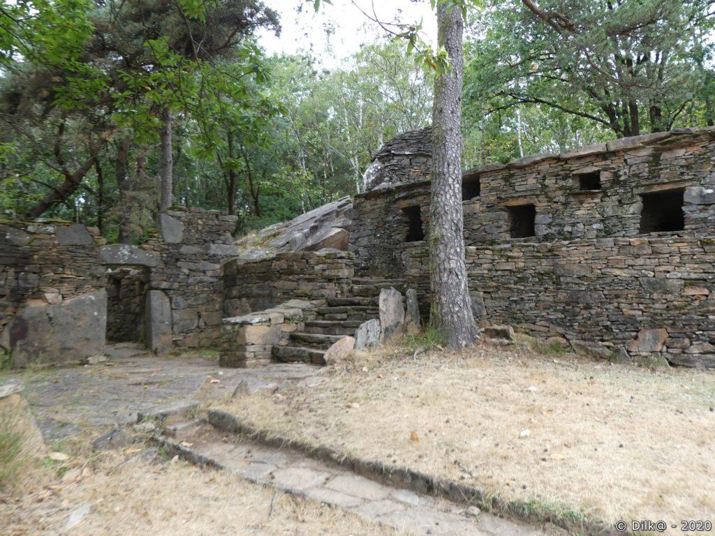 Les vestiges de la Roche Bergère