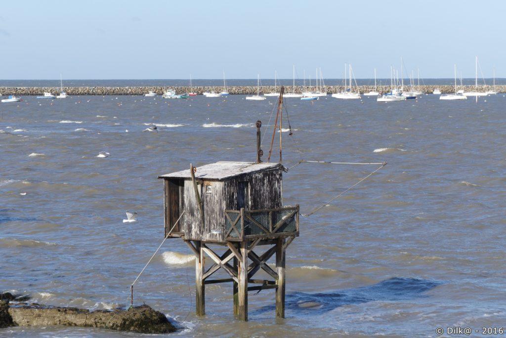 Les pêcheries sont nombreuses sur cette côte
