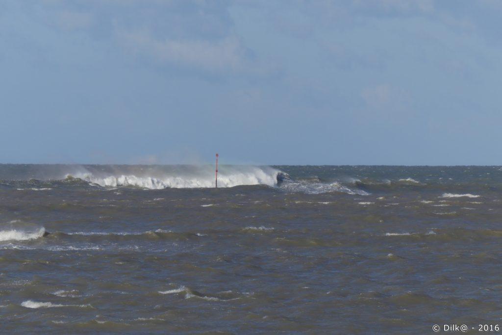 Le vent est encore très fort aujourd'hui