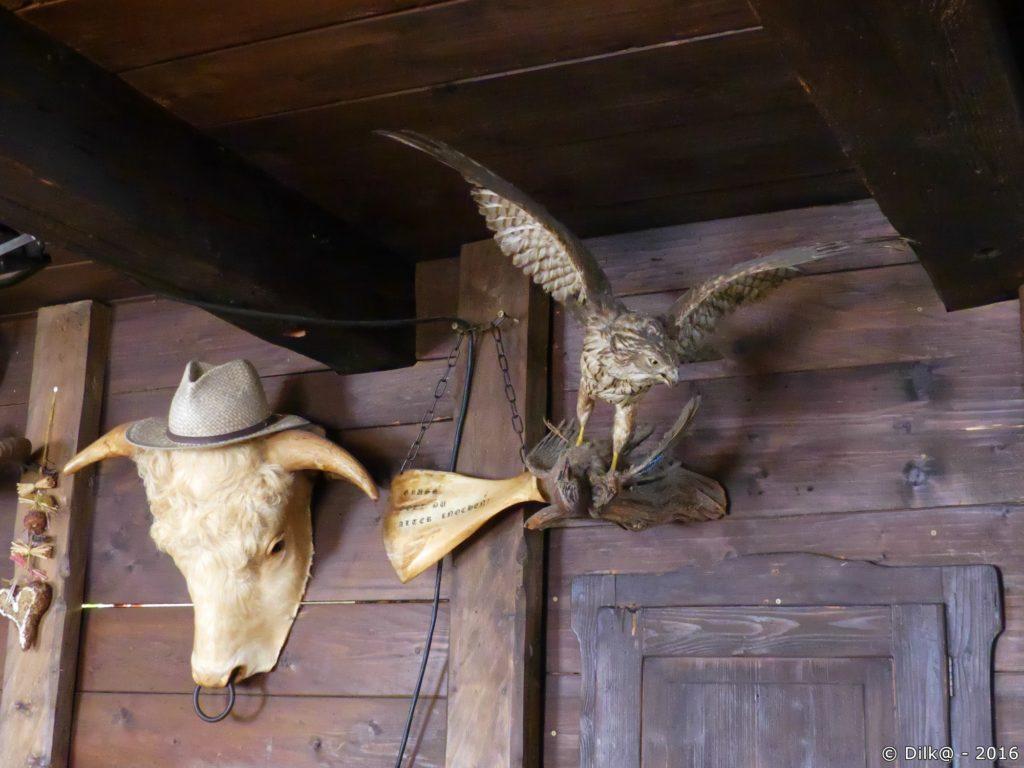 La décoration de l'auberge d'Ottenalm