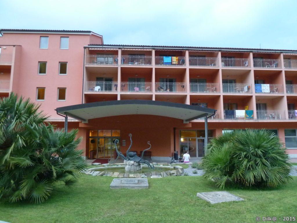 L'hôtel Salinera à Strunjan