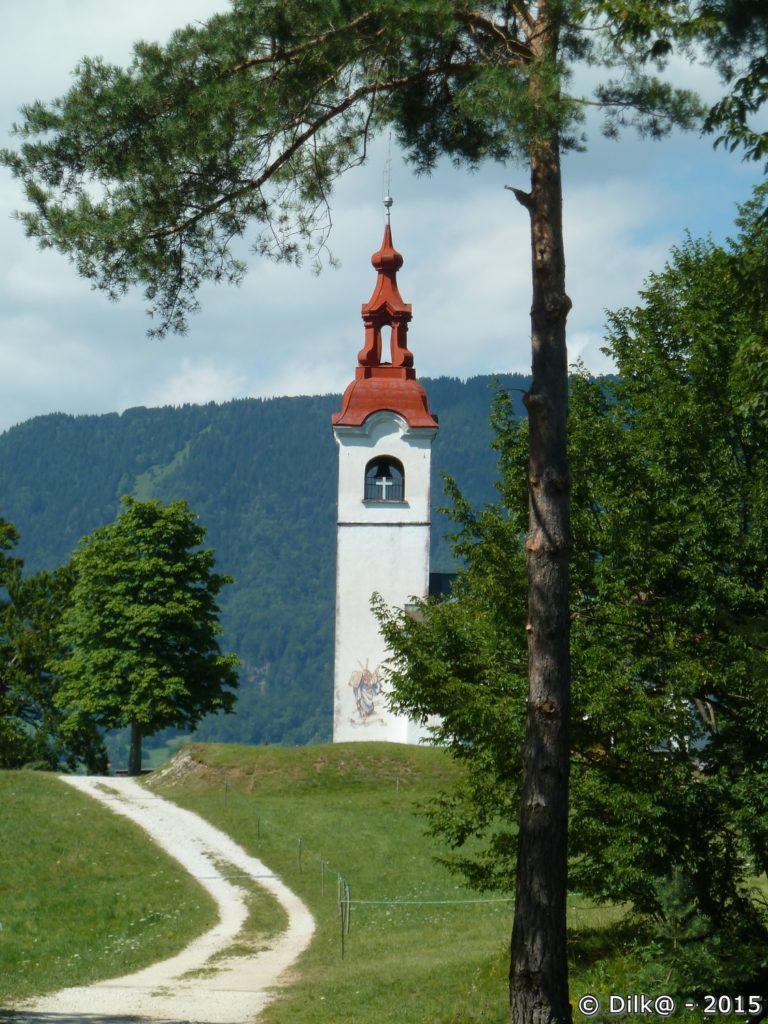 L'église Saint Ivan fait partie du pentagramme