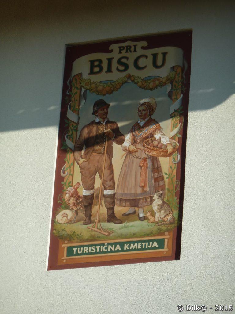 L'auberge Pri Biscu à Zasip