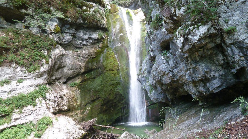 La cascade de Mostnice