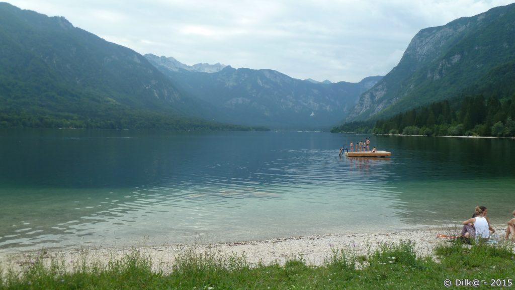 Le lac de Bohinj