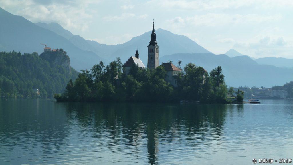Le lac de Bled et son ile
