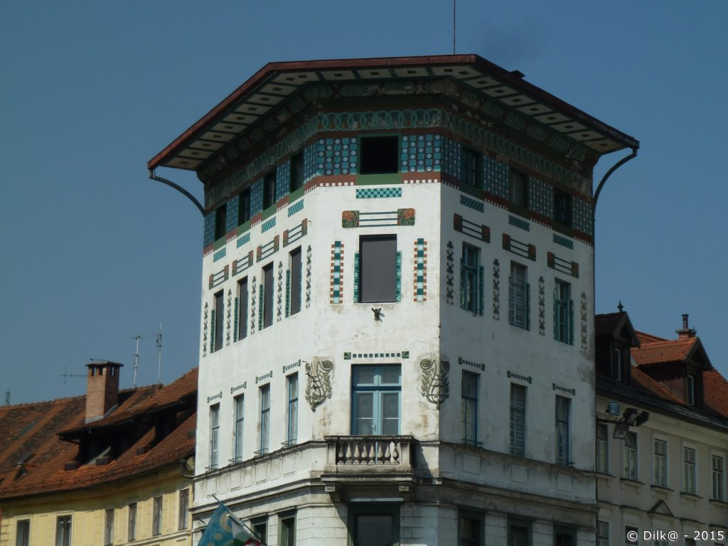 Sur la place Prešeren