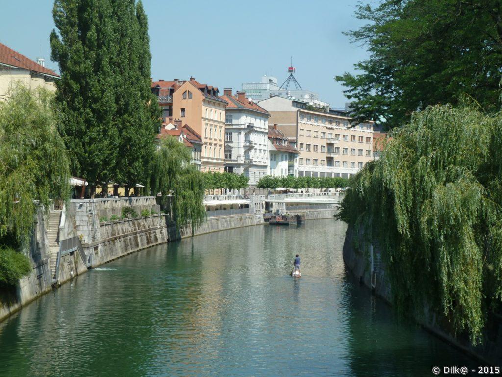 Paddle sur la Ljubljanica