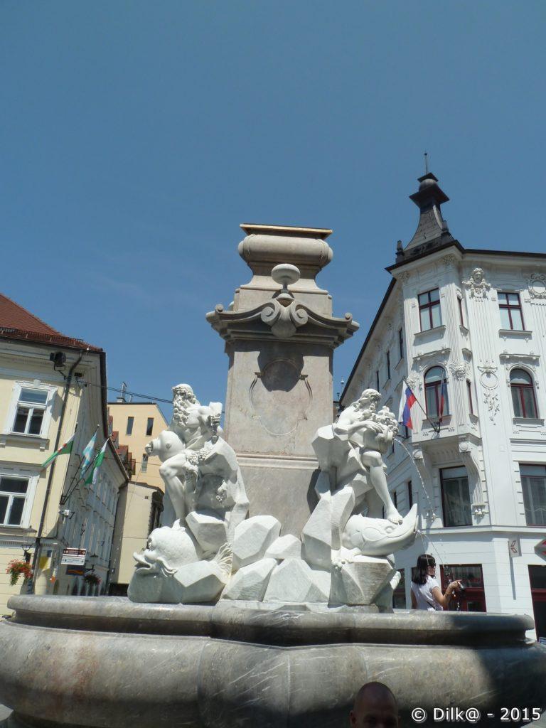 Fontaine de Robba ou fontaine des trois rivières