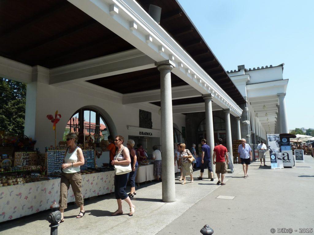 Le marché de Ljubljana